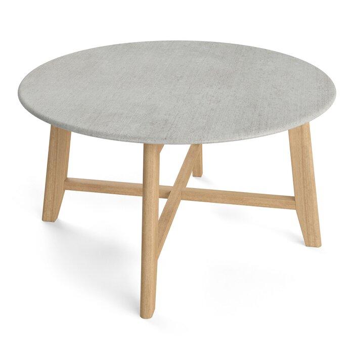 Grafton Faux Concrete Coffee Table