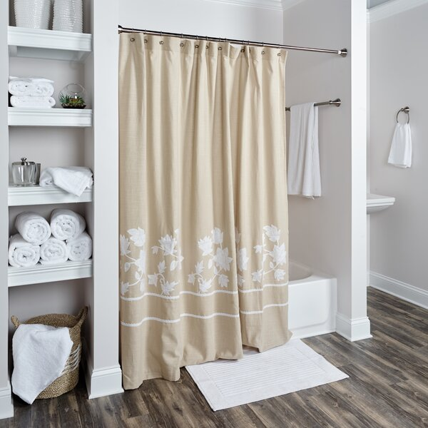 Lockington Cotton Shower Curtain by Darby Home Co