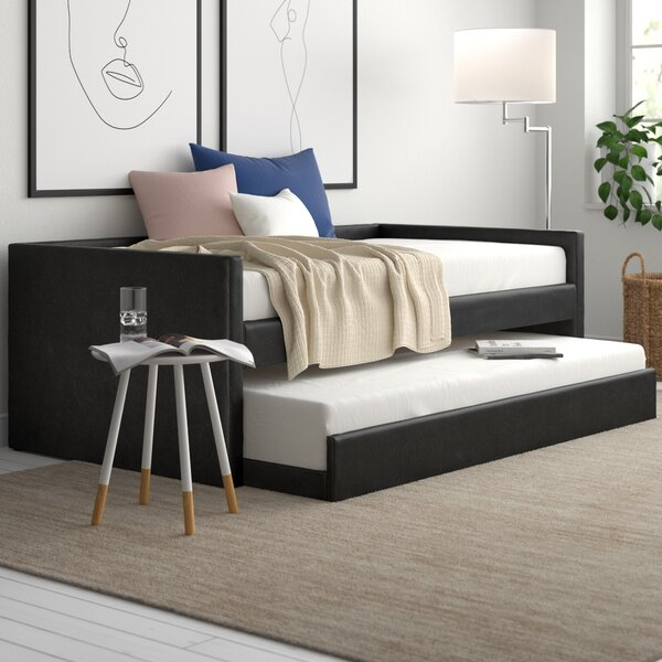 Yasmine Twin Daybed with Trundle by Zipcode Design