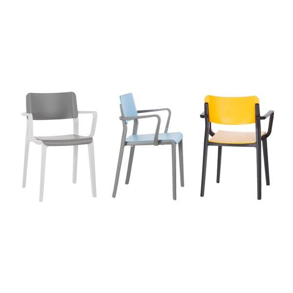 Stacking Arm Chair by Origin US LLC Origin US LLC