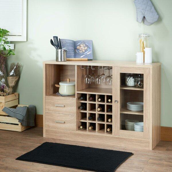 Pyburn Wooden Bar Cabinet by Ebern Designs