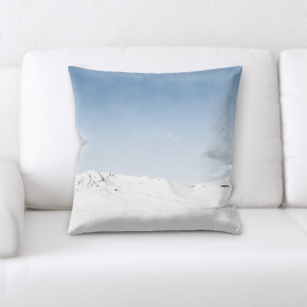 Winter Feeling (234) Throw Pillow by Rug Tycoon