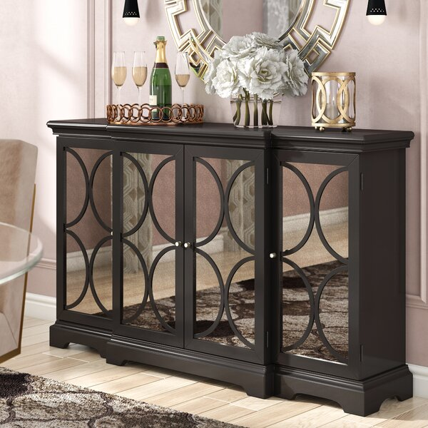 Achilles 4 Door Accent Cabinet by Willa Arlo Interiors
