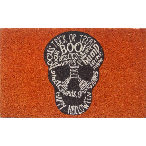 Sweet Home Skull Doormat by Entryways