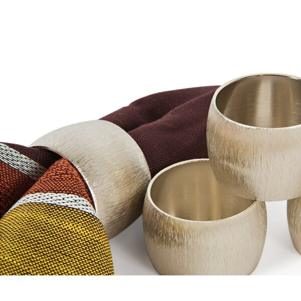Metal Napkin Ring (Set of 4) by Manor Luxe