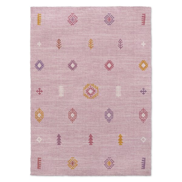 Barroui Pink Area Rug by KAVKA DESIGNS