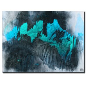'INKD XL' by Ready2HangArt™ Painting Print on Canvas by Ready2hangart