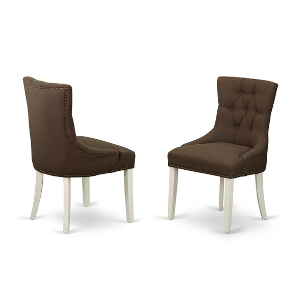 Spinney Upholstered Dining Chair (Set of 2) by Charlton Home