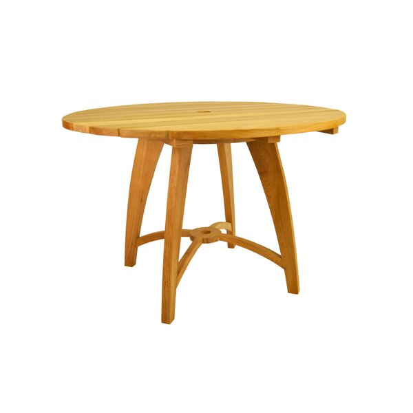 Modena Solid Wood Dining Table by Anderson Teak