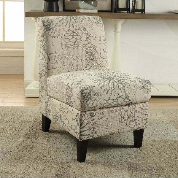 Forbis Slipper Chair by Winston Porter