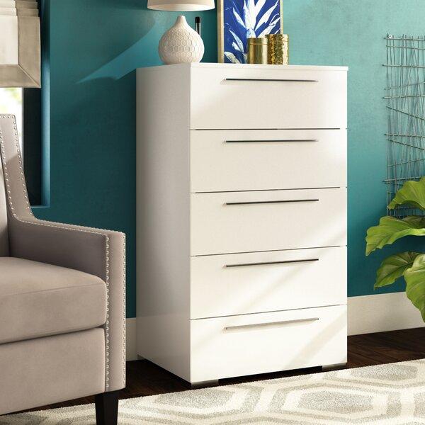 Blasko 5 Drawer Dresser by Wade Logan