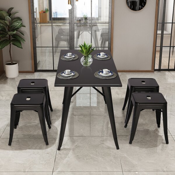 Belger 5 Piece Dining Set by Wrought Studio