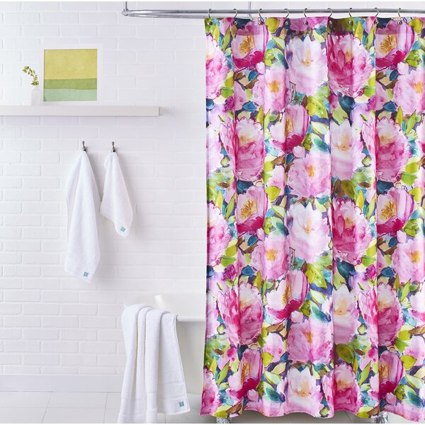 Cait Cotton Shower Curtain by bluebellgray