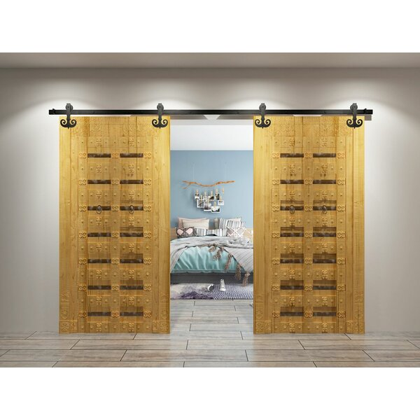 Mustache Barn Door Hardware by Homacer