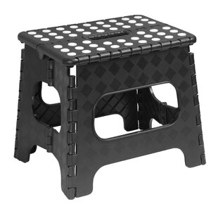 Folding Step Stool with Dots by Superior Performance