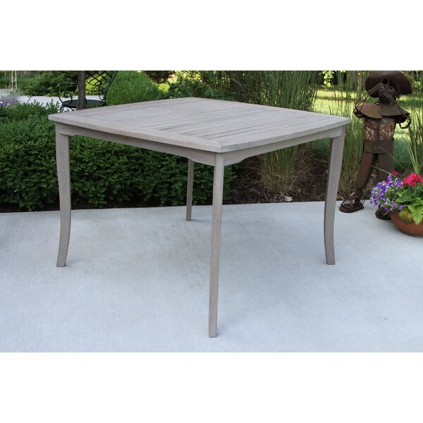Pilar Wooden Dining Table by Beachcrest Home