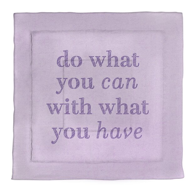 Do What You Can Single ReversibleComforter