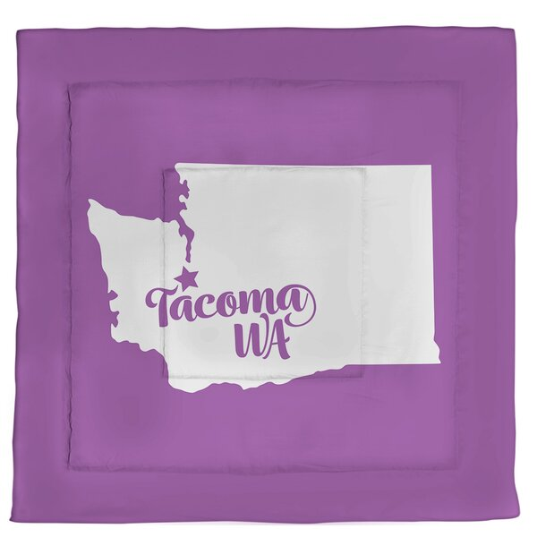 Washington Tacoma Single Reversible Comforter