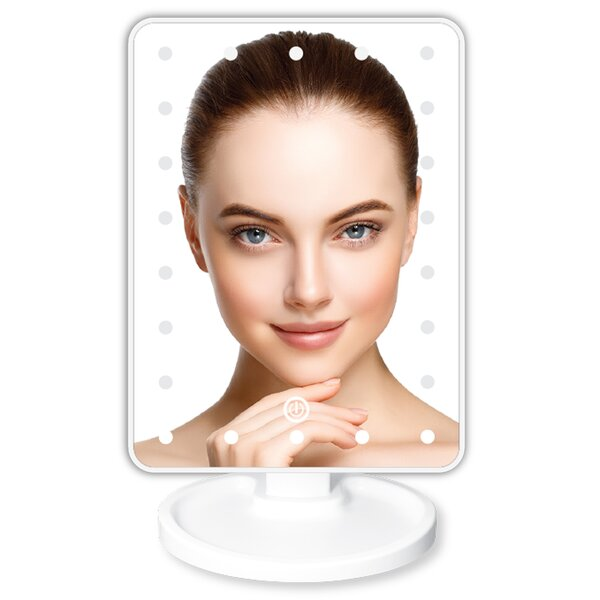 Nero Makeup/Shaving Mirror by Symple Stuff