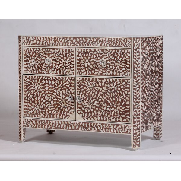 Gareloi 2 Accent Cabinet by Bungalow Rose