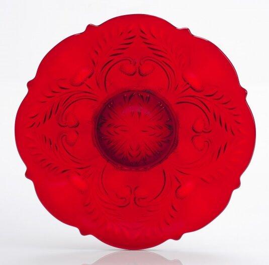 Platter by Mosser Glass