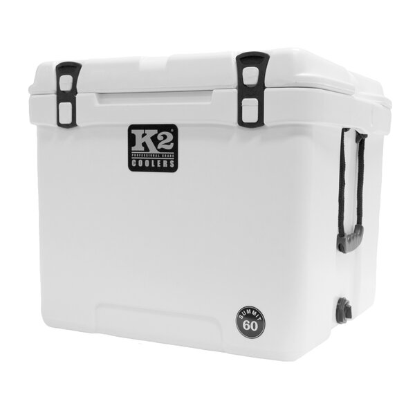 60 Qt. Summit Cube Steel Cooler by K2 Coolers