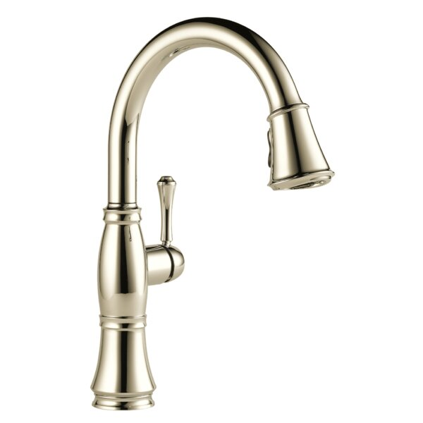 Cassidy Pull Down Single Handle Kitchen Faucet with MagnaTite® Docking by Delta