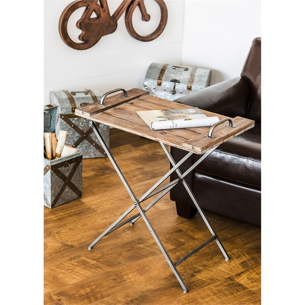 Pilarcitos Collapsible Tray Table by Gracie Oaks