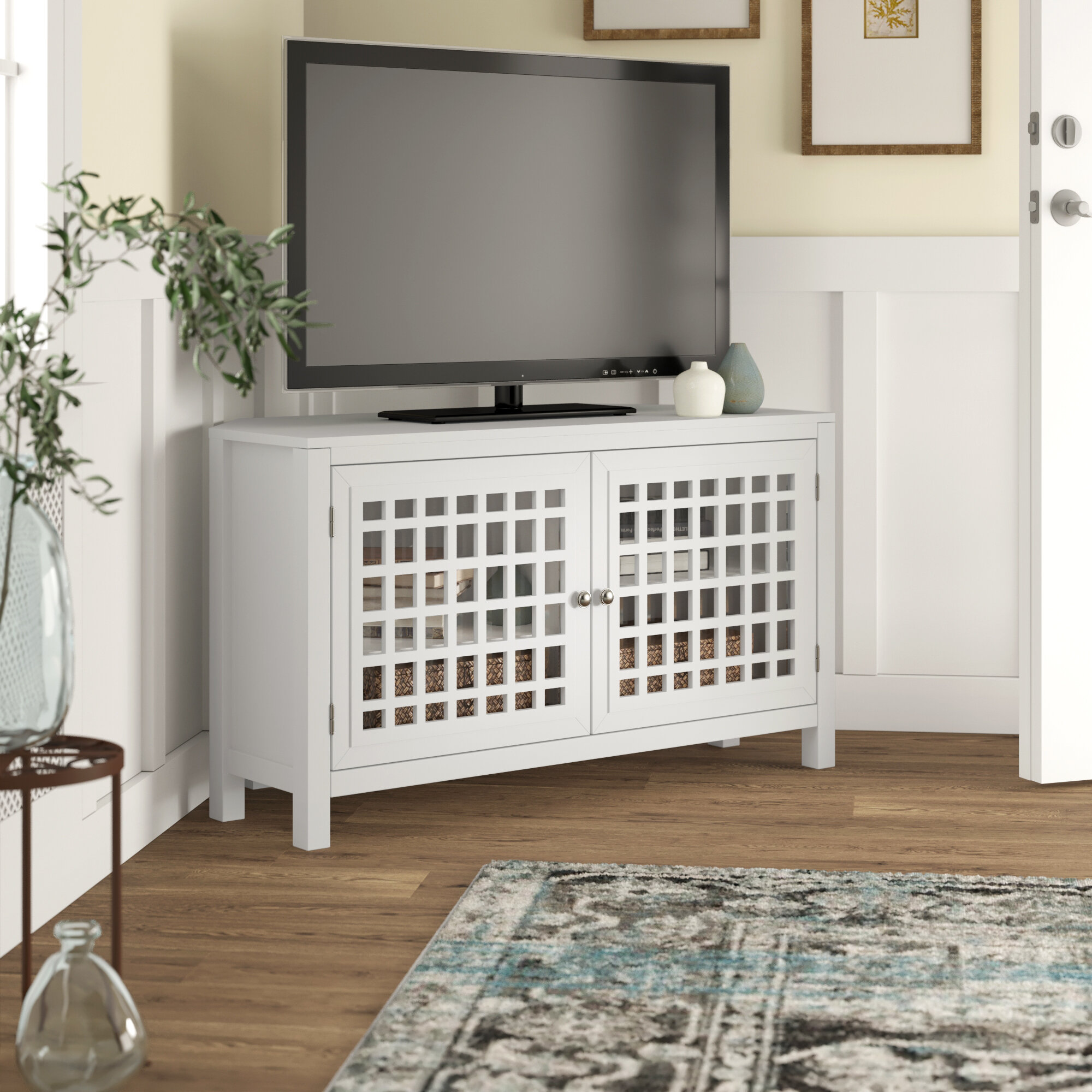 Corner Tv Stand For Tvs Up To 48 Inches