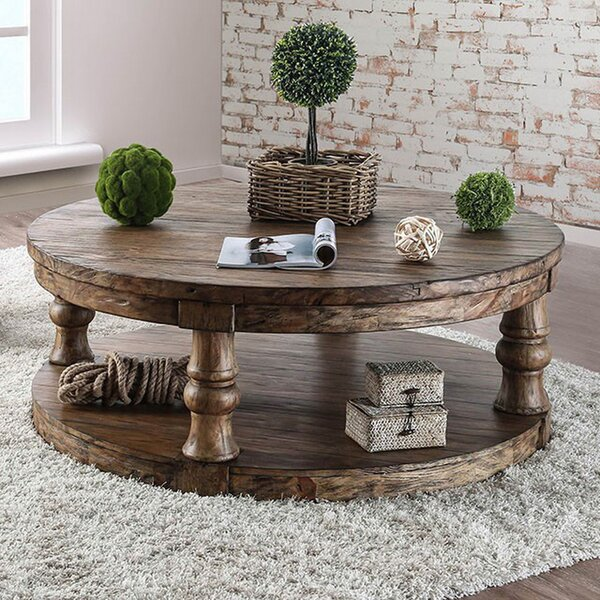 Gracie Oaks Round Coffee Tables