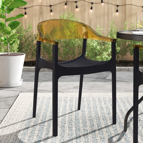 Anner Stacking Patio Dining Chair (Set Of 2) By Zipcode Design by Zipcode Design 2020 Online