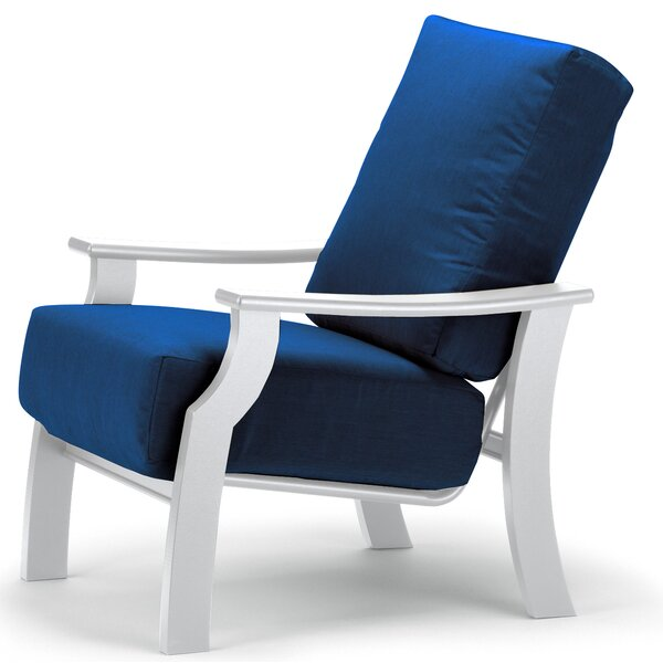 St. Catherine Deep Patio Chair with Cushions by Telescope Casual