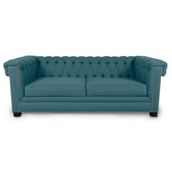 Best #1 Foster Chesterfield Sofa By Loni M Designs 2019 Sale
