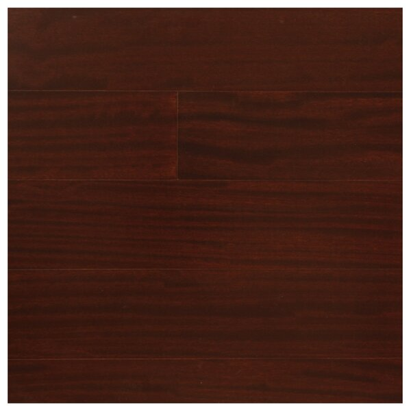 5 Engineered Pacific Mahogany Hardwood Flooring in Burgundy by Easoon USA