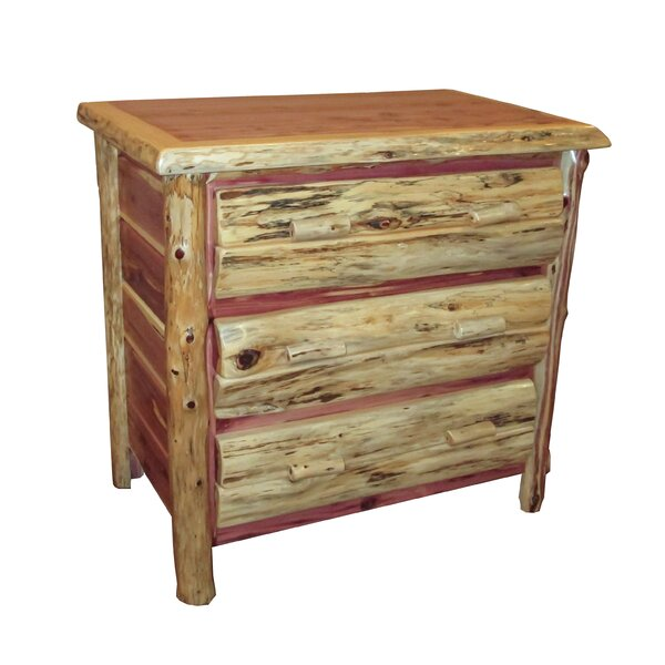 Delmar 3 Drawer Bachelors Chest by Loon Peak
