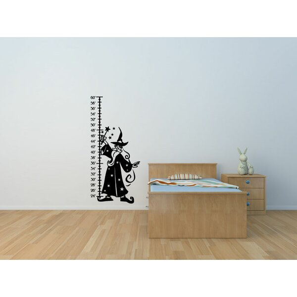 Hohman Wizard Vinyl Wall Decal Growth Chart by Zoomie Kids