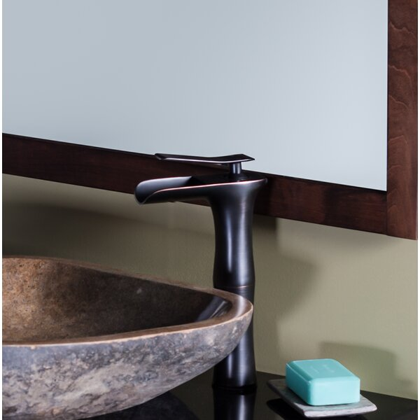 Terra Stone Specialty Vessel Bathroom Sink by Novatto