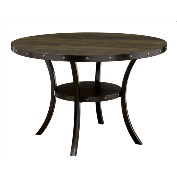 Rigby Round Dining Table by Alcott Hill