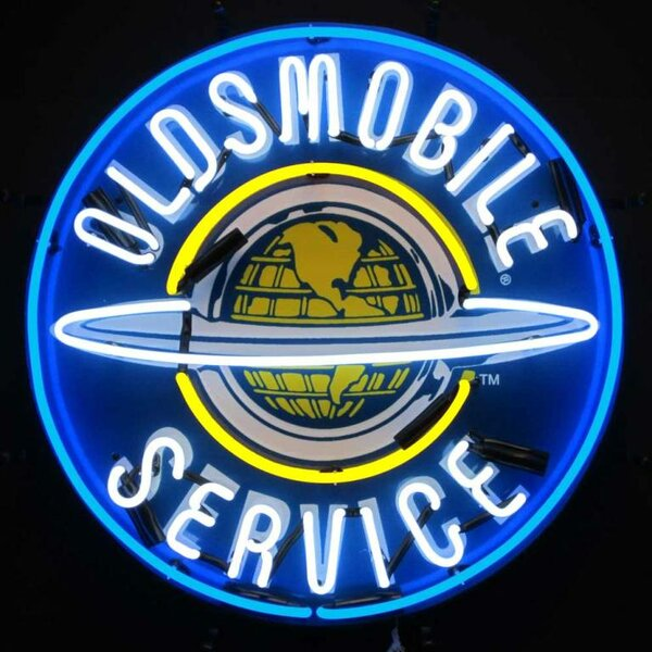 Oldsmobile Service Neon Sign by Neonetics