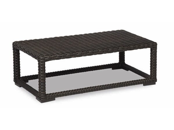 Leucadia Wicker Coffee Table By Sunset West