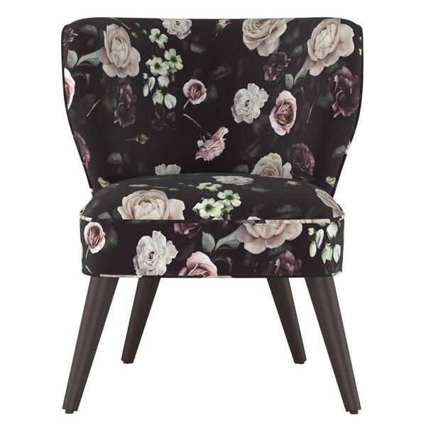Nowak Curved Parsons Chair by Rosdorf Park