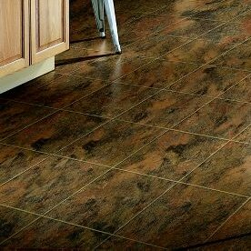 Stone Creek 12 x 48 x 8mm Tile Laminate Flooring in Sienna by Armstrong Flooring