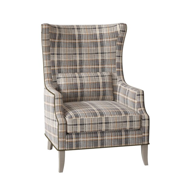 Mona Wingback Chair by Bernhardt