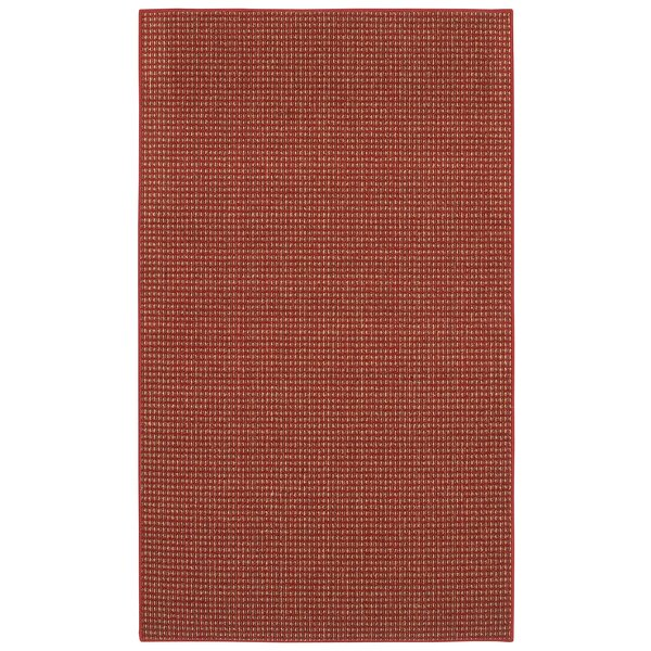 Steuben Red Area Rug by Charlton Home