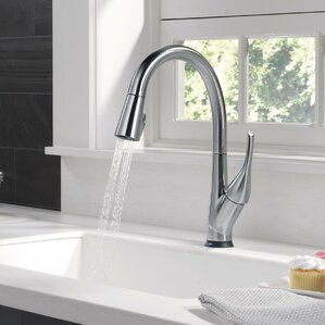 Esque Touch Single Handle Kitchen Faucet With LED Light