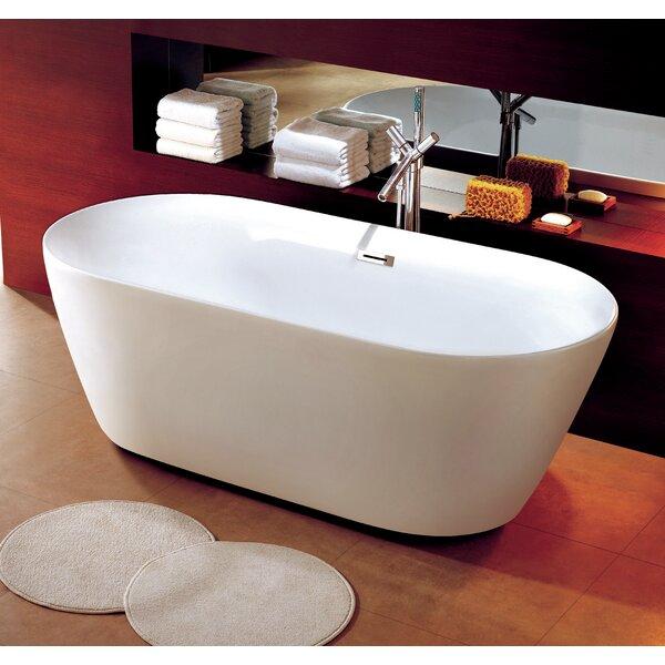 Como 32 x 67 Freestanding Soaking Bathtub by Dyconn Faucet