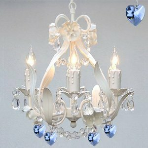 Bowsden Iron Flower 4-Light Candle Style Chandelier by Rosdorf Park