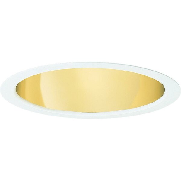 Pro-Optic Open Alzak Anti-Iridescent 7.75 Recessed Trim by Progress Lighting