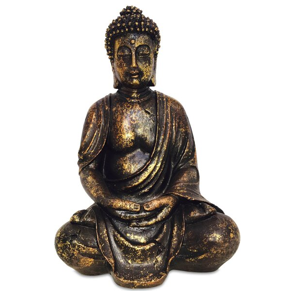 Serenity Dhyanasana Buddha Figurine by Whole House Worlds