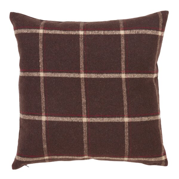 Kavia Flannel Design Throw Pillow by Gracie Oaks